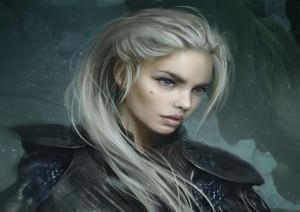 portrait Alyana Cheveux longs